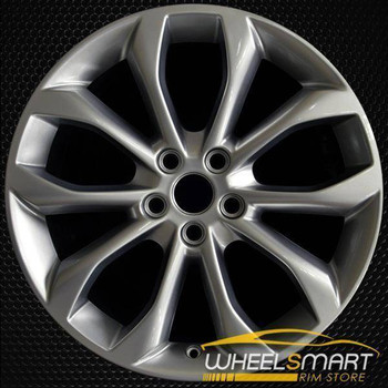 "18"" Lincoln MKC oem wheel 2015-2018 Hypersilver alloy stock rim 10017"