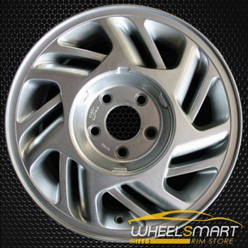 "15"" Ford Thunderbird OEM wheel 1989-1993 Silver alloy stock rim ALY01677U10"