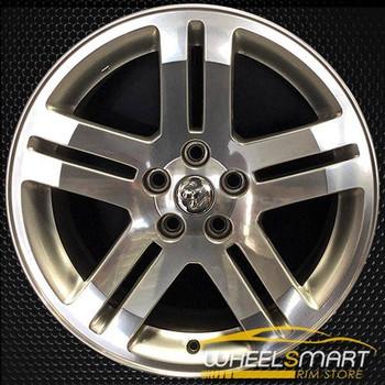 "18"" Dodge Magnum OEM wheel 2005-2008 Polished alloy stock rim ALY02248A80"