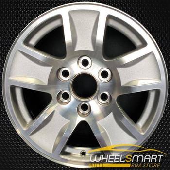 "17"" Chevy Silverado OEM wheel 2014-2018 Silver alloy stock rim ALY05657U10"