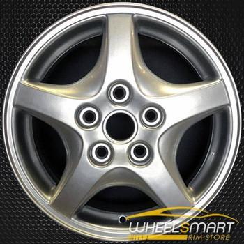 """15"""" Pontiac Montana OEM wheel 1998-2004 Silver alloy stock rim ALY06528U20"""