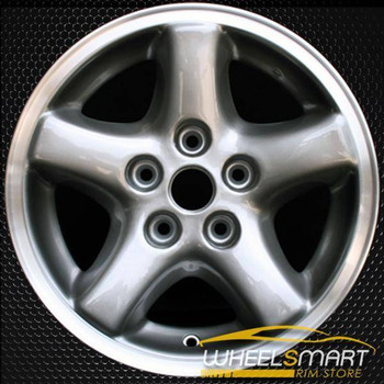 "15"" Jeep Wrangler OEM wheel 2002-2006 Machined alloy stock rim ALY09018U10"