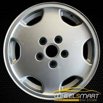 "15"" Audi 100 OEM wheel 1992-1994 Silver alloy stock rim ALY58682U10"