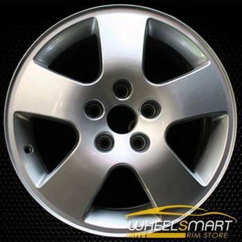 "16"" Audi A6 OEM wheel 2000-2001 Silver alloy stock rim ALY58731U10"