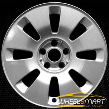 "17"" Audi A6 OEM wheel 2000-2004 Silver alloy stock rim ALY58734U10"
