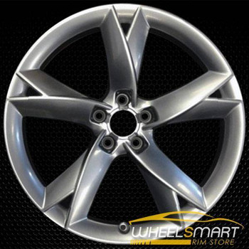 "19"" Audi S5 OEM wheel 2008-2017 Hypersilver alloy stock rim ALY58827U78"