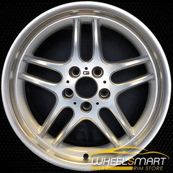 "18"" BMW 740i OEM wheel 1998-2001 Silver alloy stock rim ALY59272U15"