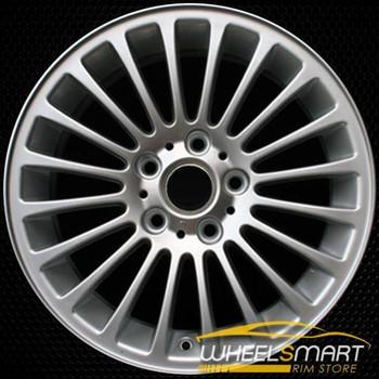 "17"" BMW 3 Series OEM wheel 2001-2006 Silver alloy stock rim ALY59343U10"