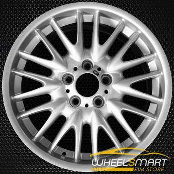 "18"" BMW 3 Series OEM wheel 2001-2006 Silver alloy stock rim ALY59382U20"