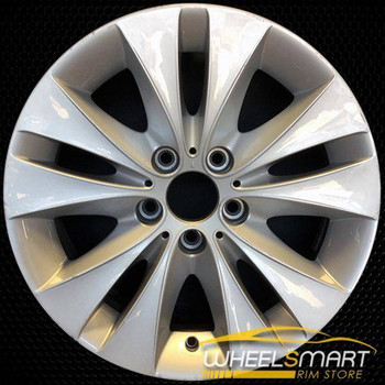 "17"" BMW 5 Series OEM wheel 2004-2010 Silver alloy stock rim ALY59472U20"
