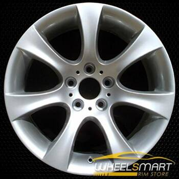 "18"" BMW 5 Series OEM wheel 2004-2010 Silver alloy stock rim ALY59475U20"