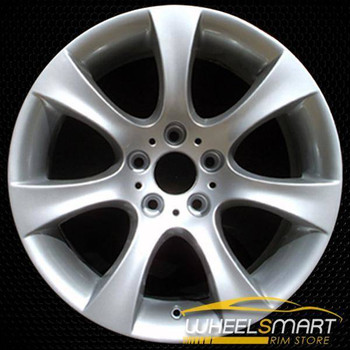 "18"" BMW 5 Series OEM wheel 2004-2010 Silver alloy stock rim ALY59479U20"