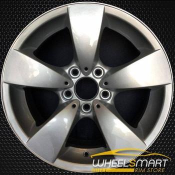 "17"" BMW 528i OEM wheel 2008-2010 Silver alloy stock rim ALY59557U20"