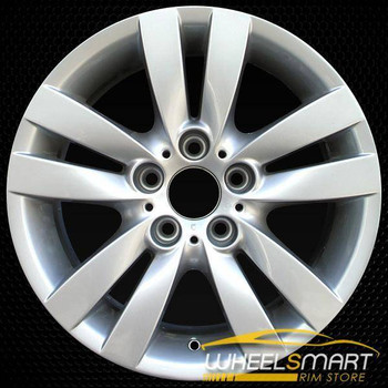 "17"" BMW 3 Series OEM wheel 2006-2013 Silver alloy stock rim ALY59585U20"