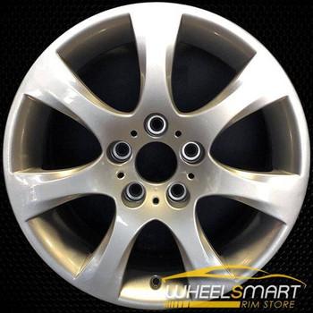 "17"" BMW 328i OEM wheel 2006-2013 Silver alloy stock rim ALY59612U20"