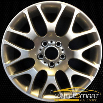 "18"" BMW 3 Series OEM wheel 2006-2013 Silver alloy stock rim ALY59615U20"