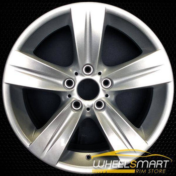 "18"" BMW 323I OEM wheel 2006-2012 Silver alloy stock rim ALY59619U20"