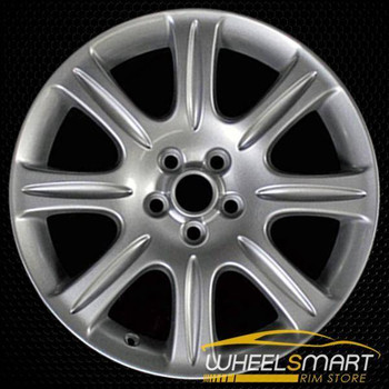 "18"" Jaguar XJ OEM wheel 2008-2009 Silver alloy stock rim ALY59744U20"