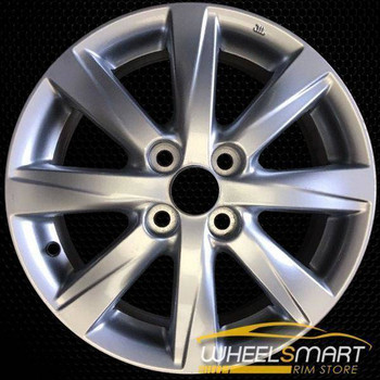 "15"" Toyota Yaris oem wheel 2015-2017 Silver alloy stock rim 75173"