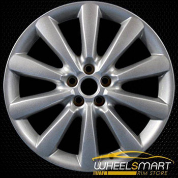 "19"" Jaguar XF OEM wheel 2010-2014 Silver alloy stock rim ALY59849U20"