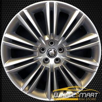 "20"" Jaguar XJ OEM wheel 2010-2018 Polished alloy stock rim ALY59865U80"
