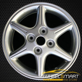 "16"" Nissan Sentra OEM wheel 2000-2001 Silver alloy stock rim ALY62383U10"