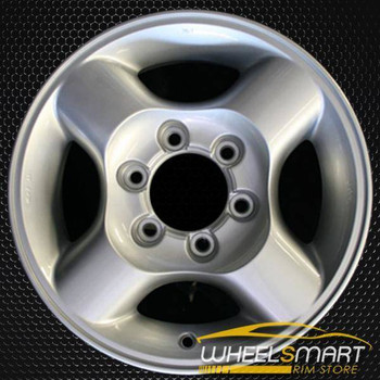 "16"" Nissan Xterra OEM wheel 2000-2002 Silver alloy stock rim ALY62384U10"