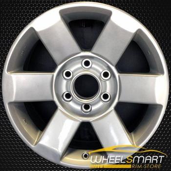 "18"" Nissan Titan OEM wheel 2004-2010 Silver alloy stock rim ALY62438U20"