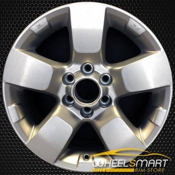 "16"" Nissan Xterra OEM wheel 2009-2014 Silver alloy stock rim ALY62510U20"
