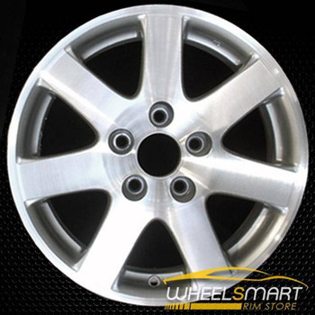 "15"" Honda Civic OEM wheel 2004-2005 Machined alloy stock rim ALY63869U20"