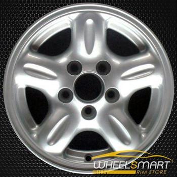"""14"""" Mazda Pickup OEM wheel 1998-2001 Silver alloy stock rim ALY64808U10"""