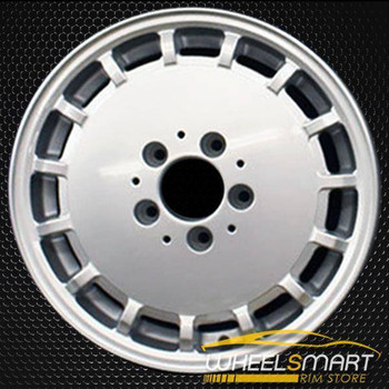 "15"" Mercedes 300E OEM wheel 1989-1993 Silver alloy stock rim ALY65144A10"