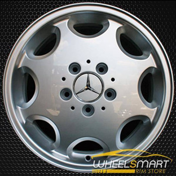"16"" Mercedes SL500 OEM wheel 1994-1998 Silver alloy stock rim ALY65151U10"