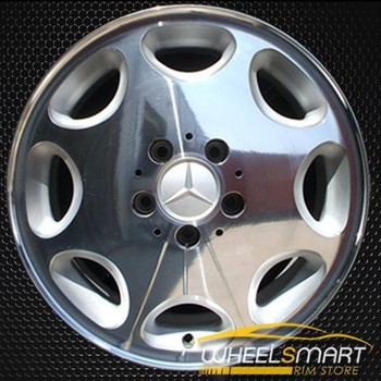"16"" Mercedes E320 OEM wheel 1996-1999 Polished alloy stock rim ALY65167U80"