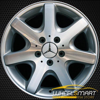"16"" Mercedes SLK230 OEM wheel 1997-2004 Machined alloy stock rim ALY65174U10"