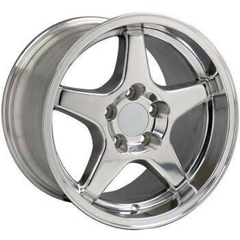 "17"" Pontiac Firebird  replica wheel 1993-2002 Polished rims 4750757"