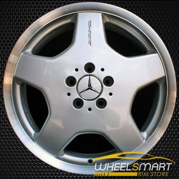 "18"" Mercedes CL500 OEM wheel 2001-2004 Silver alloy stock rim ALY65207U10"