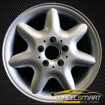 """16"""" Mercedes C240 OEM wheel 2001-2004 Silver alloy stock rim ALY65211U10"""