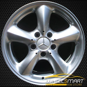 "16"" Mercedes SLK320 OEM wheel 2001-2004 Silver alloy stock rim ALY65219U10"