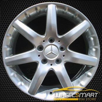 "17"" Mercedes C230 OEM wheel 2002-2005 Silver alloy stock rim ALY65261U20"