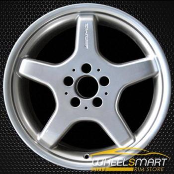 """18"""" Mercedes SL55 OEM wheel 2003-2006 Silver alloy stock rim ALY65280U10"""
