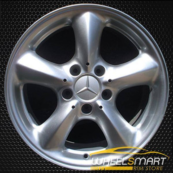 "17"" Mercedes CLK320 OEM wheel 2003-2005 Hypersilver alloy stock rim ALY65288A78"