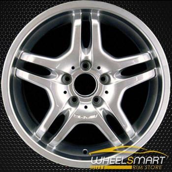 "17"" Mercedes CLK55 OEM wheel 2003-2005 Hypersilver alloy stock rim ALY65293U77"