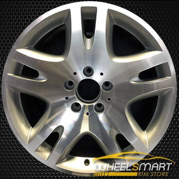 "17"" Mercedes E500 OEM wheel 2003-2006 Machined alloy stock rim ALY65297U10"