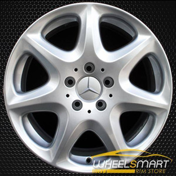 "17"" Mercedes S430 OEM wheel 2003-2006 Silver alloy stock rim ALY65307U20"