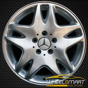 "17"" Mercedes S500 OEM wheel 2003 Silver alloy stock rim ALY65308U20"