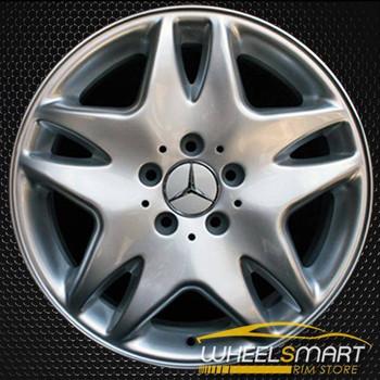 "17"" Mercedes S500 OEM wheel 2003 Silver alloy stock rim ALY65308U20"