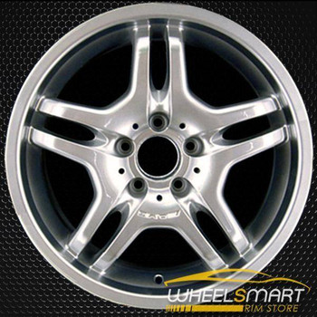 "18"" Mercedes S55 OEM wheel 2003-2006 Hypersilver alloy stock rim ALY65312U78"