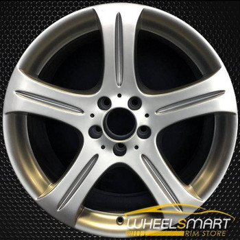 "18"" Mercedes CLS500 OEM wheel 2006-2007 Silver alloy stock rim 65372 ALY65372U20"