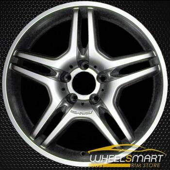 "18"" Mercedes CLS550 OEM wheel 2006-2007 Hypersilver alloy stock rim ALY65373U78"